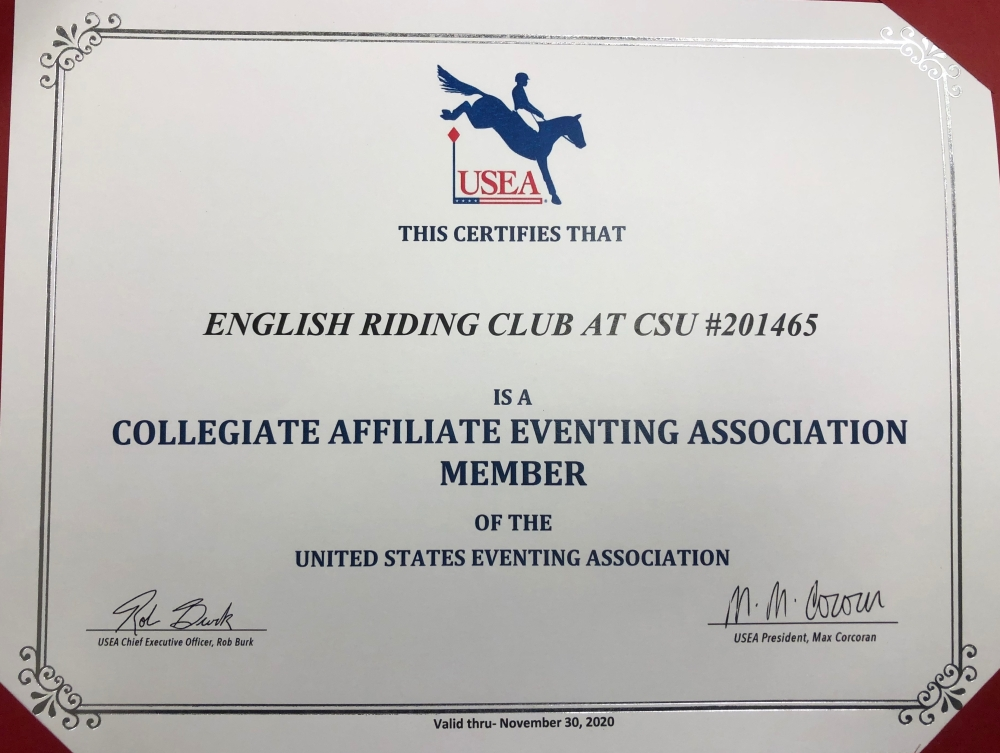 CSU Intercollegiate Certificate